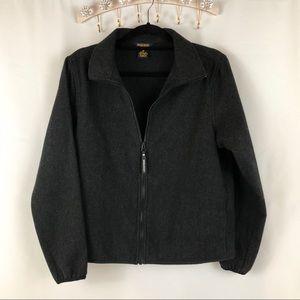 Woolrich Women's 100% Wool Dark Grey Jacket